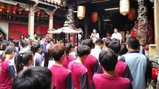 106學年度高三學生包高中祈福活動